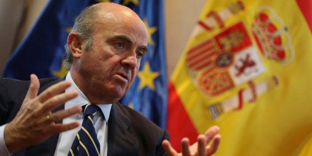Luis de Guindos, ministro de Economía. REUTERS/Sergio