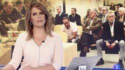 TVE relega el juicio de la trama Gürtel a la quinta noticia del