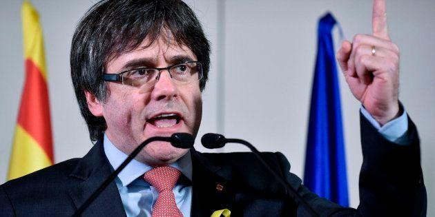 La Fiscalía General, a Puigdemont: