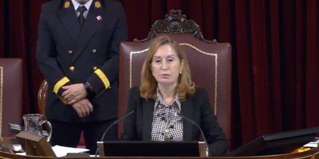 Ana Pastor en el Congreso de los