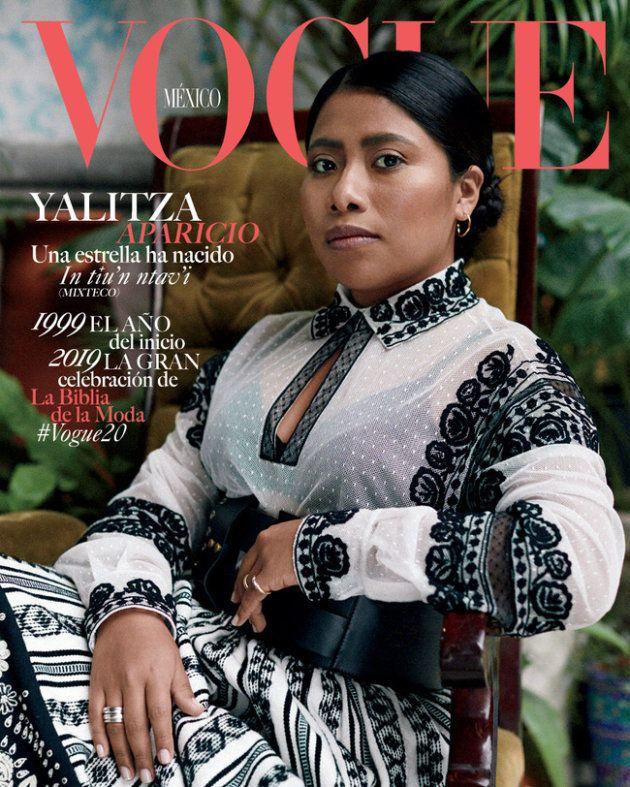 Yalitza Aparicio, en 'Vogue