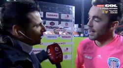 La sinceridad del portero del Lugo tras marcar uno de los goles del