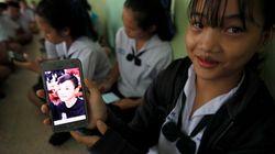 Los niños rescatados en Tailandia se reúnen con sus