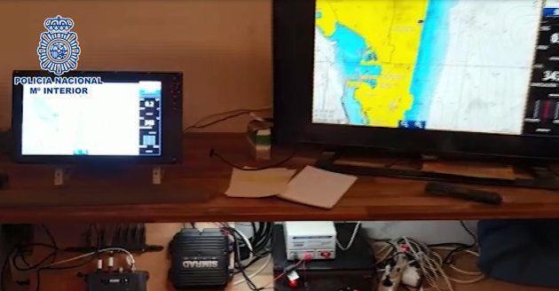 La Policía desmantela en Cádiz un sistema de radares de los