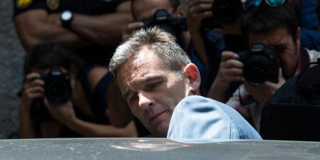 Iñaki Urdangarin abandona la Audiencia de Palma el pasado 13 de junio, tras ser informado de los plazos...