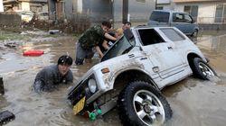 Japón: Las fotos más impactantes de las inundaciones que dejan 179