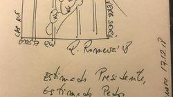 Esto le ha regalado Joan Tardá a Pedro