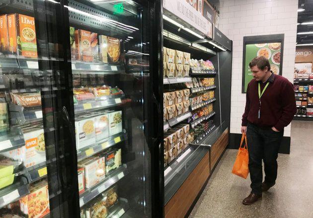 Amazon abre el primer supermercado sin