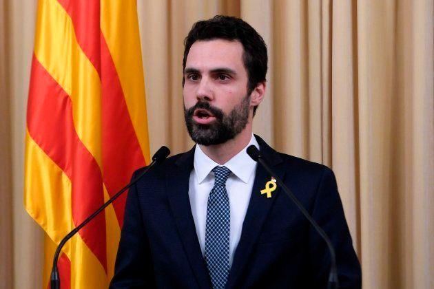 Torrent propone a Puigdemont como candidato a la