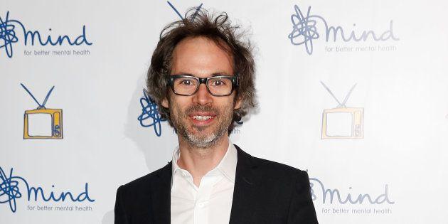 El pianista James Rhodes, en los MIND Media Awards en Londres, el 17 de noviembre de