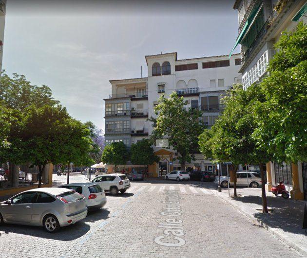 La calle de Otto Engelhardt, ya reconocida en el callejero de