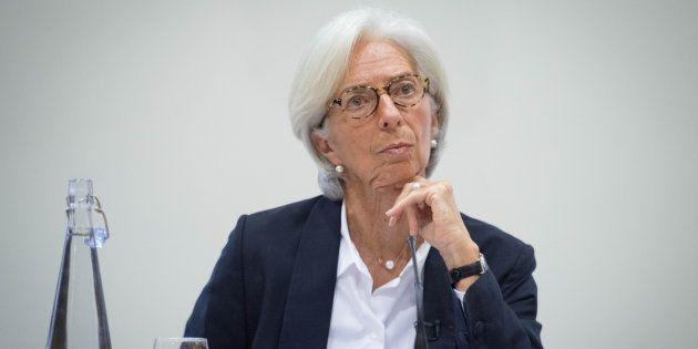 Christine Lagarde, directora del FMI, en Londres. REUTERS/Stefan