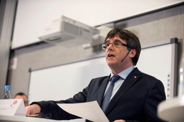 El Supremo no reactiva la orden para detener a Puigdemont en