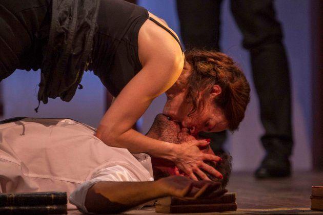 Lidia Navarro y Manuel Moya en Desengaños Amorosos de Nando