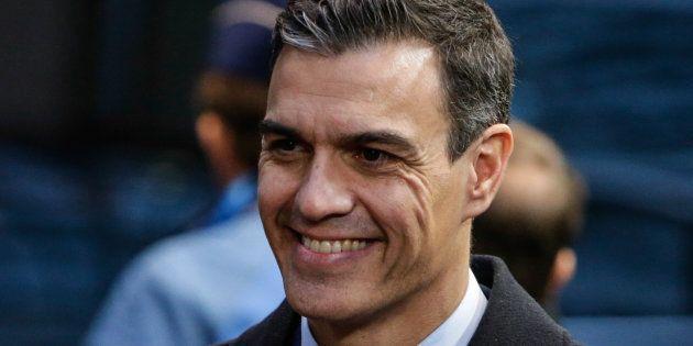 El presidente del Gobierno, Pedro Sánchez, en la cumbre de jefes de Gobierno en