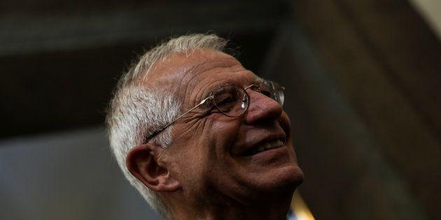 Josep Borrell, el pasado 7 de junio, en su toma de posesión de la cartera de