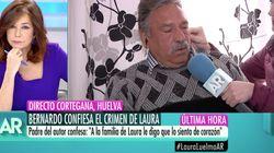 La pregunta al padre del asesino de Laura Luelmo en 'El Programa de AR' que más está dando que