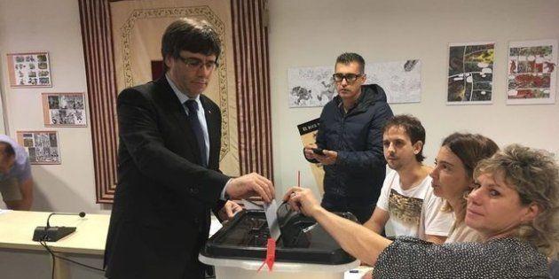 Carles Puigdemont el
