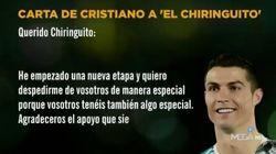 La carta de Ronaldo a 'El Chiringuito' que da que hablar por un significativo