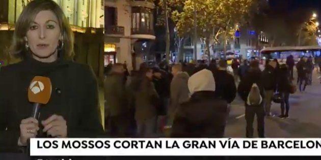 Reportera de Antena 3