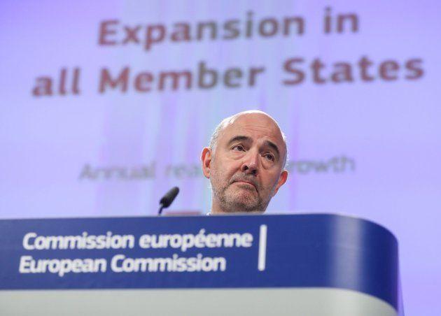 El comisario europeo de Asuntos Económicos, Pierre