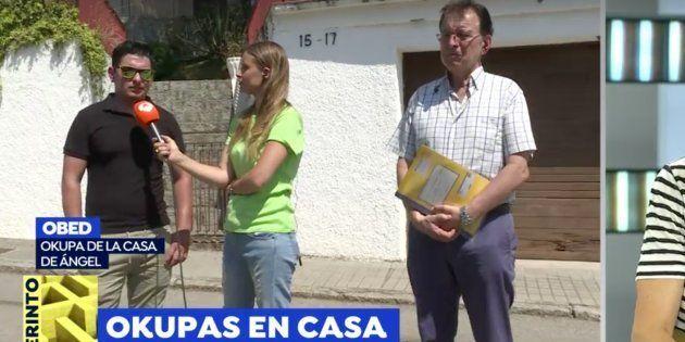 'Espejo Público': La bronca en directo de Susanna Griso a este okupa que se ha metido en un casoplón...