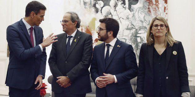 Reunión entre Pedro Sánchez y Quim