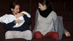 Pablo Iglesias e Irene Montero cumplen y se reparten la baja por haber tenido a sus mellizos al