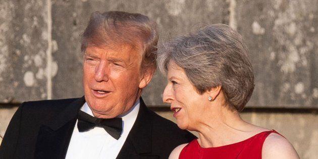 Trump y May el pasado