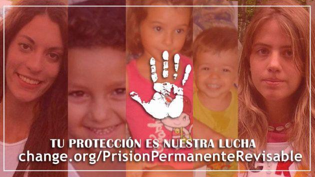 Imagen de la campaña lanzada en Change.org contra la derogación de este tipo de