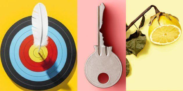 Combinación de los carteles de las obras que se pueden ver en el