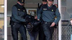 Trasladan a Bernardo Montoya a los juzgados de Valverde entre gritos de