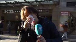 Brutal agresión al periodista Cake Minuesa (Intereconomía) durante el