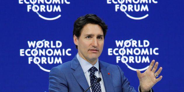 Justin Trudeau sacude el Foro de Davos con este acertado discurso