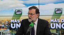 El lapsus de Rajoy durante su entrevista con Alsina: