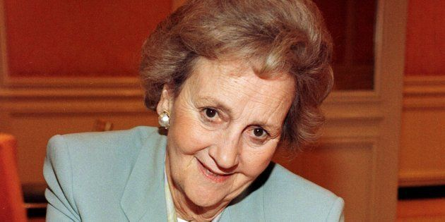 Katharine Graham, en 1997 (Photo by Vince Bucci/Getty