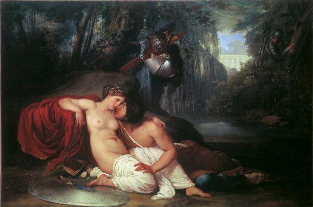 'Rinaldo y Armida', de Francesco Hayez (1812 -