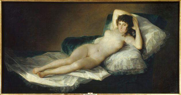 'La Maja desnuda' de Francisco de Goya