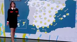 Esta presentadora de Antena 3 sale airosa de un incidente en