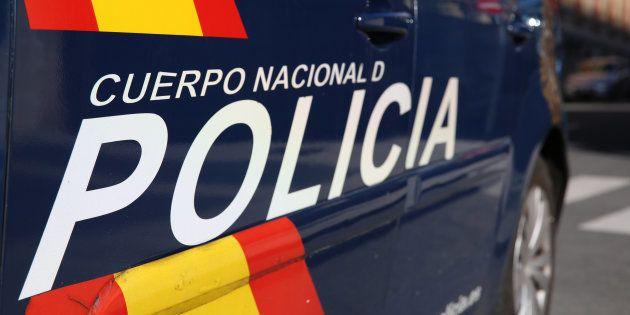 Una furgoneta de la Policía Nacional, en una imagen de