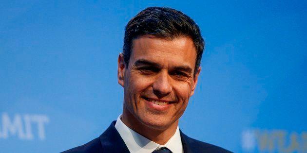 El presidente del Gobierno, Pedro Sánchez, durante la cumbre de la