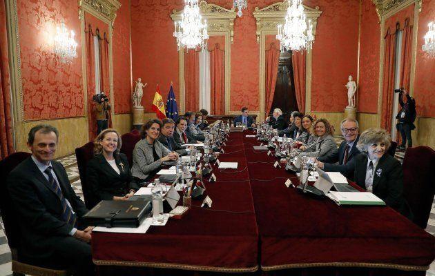 Reunión del Consejo de Ministros en