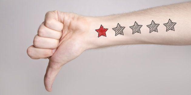 ¿Qué hacer cuando recibes un review negativo en tus redes