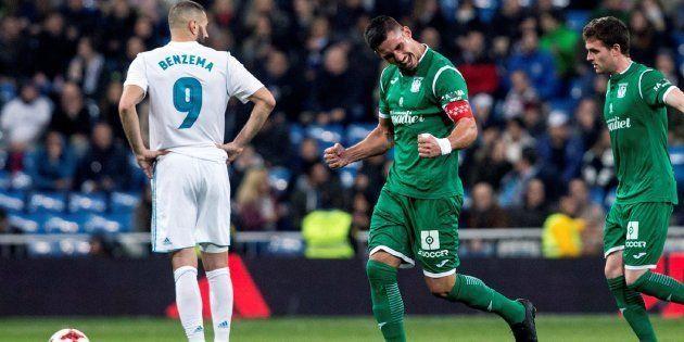 El Real Madrid, eliminado de la Copa del Rey tras caer ante el Leganés