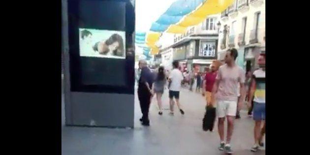 Un vídeo porno de Jordi 'El Niño Polla', en plena calle Preciados de