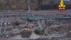 Tres muertos al descarrillar un tren cerca de