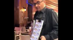 Este vendedor de la ONCE triunfa en Twitter con su forma de vender