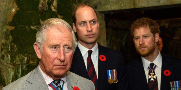 El príncipe Carlos y el príncipe Guillermo se negaron a reunirse con
