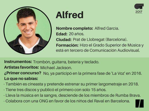Ficha de Alfred 'OT': cineasta, precoz y