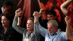 El PT ignora la condena de Lula y oficializa su candidatura a la Presidencia de